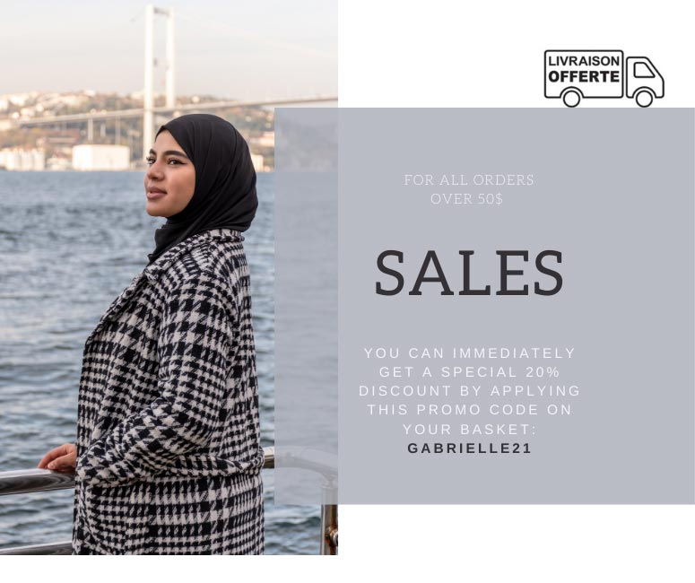 Gibril & Gabrielle Winter Sale 2021 popup