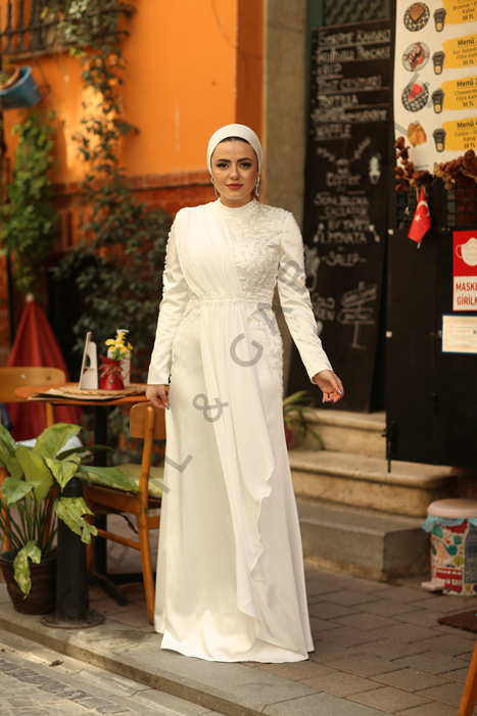 Gibril & Gabrielle - Açelya Beyaz Elbise