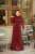 Açelya Bordo Elbise - Thumbnail