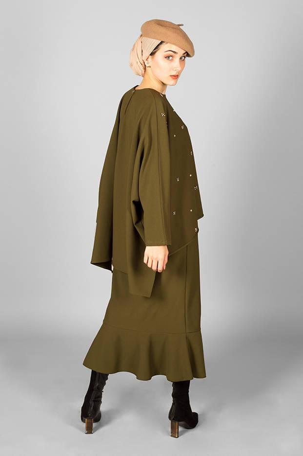 Alya Suit Khaki