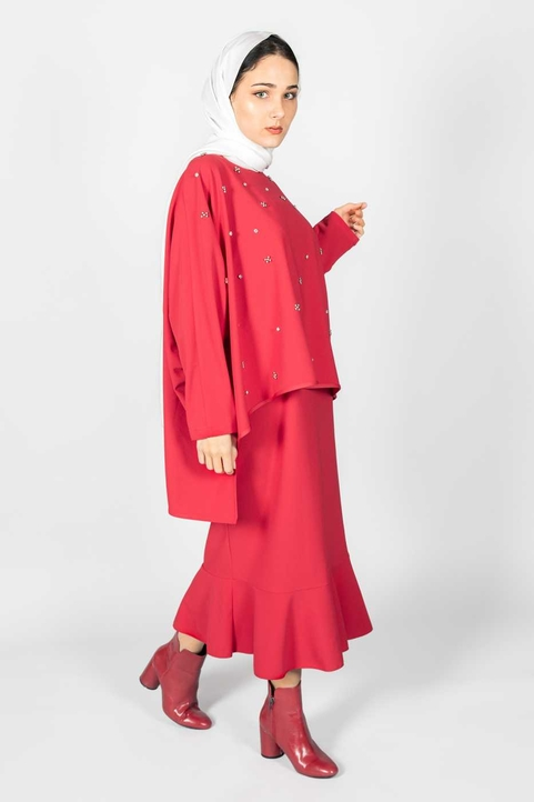 Alya Suit Red