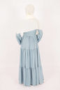 Amelia Blue Dress - Thumbnail