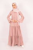 Amelia Old Pink Dress - Thumbnail