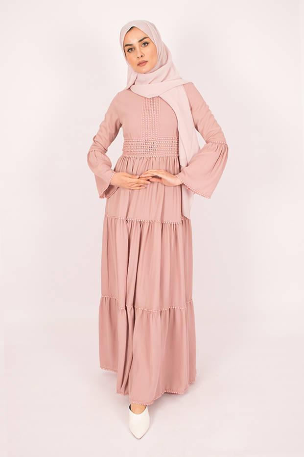 Amelia Old Pink Dress