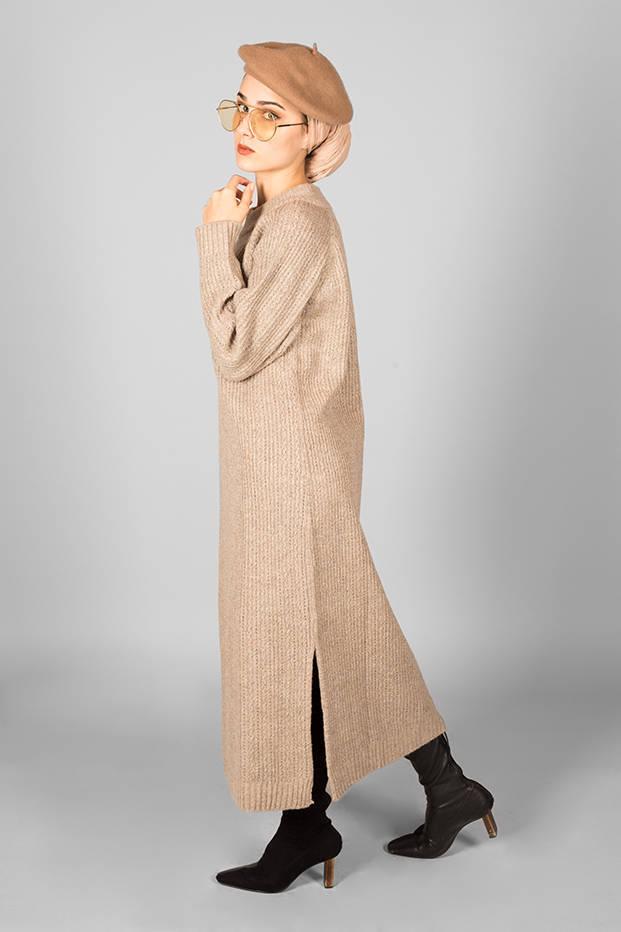 Anais Dress Beige
