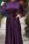 Aubergine Mennel Dress - Thumbnail