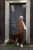 Aya Co-ord Knit Dress and Cardigan - Camel - Thumbnail