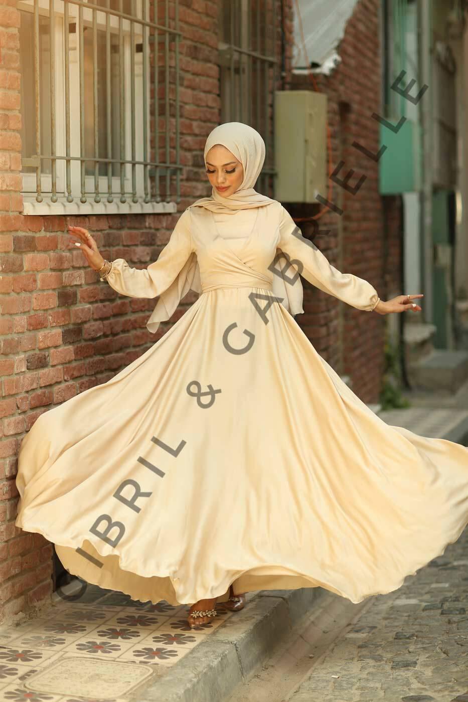 Gibril & Gabrielle - Bej Yasemin Elbise
