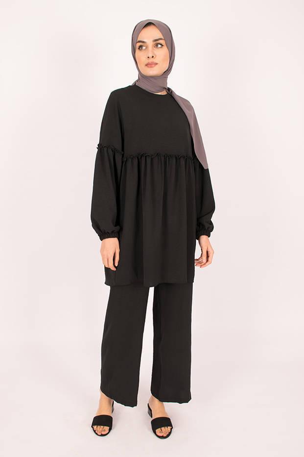 Gibril & Gabrielle - Black Firdevs Suit