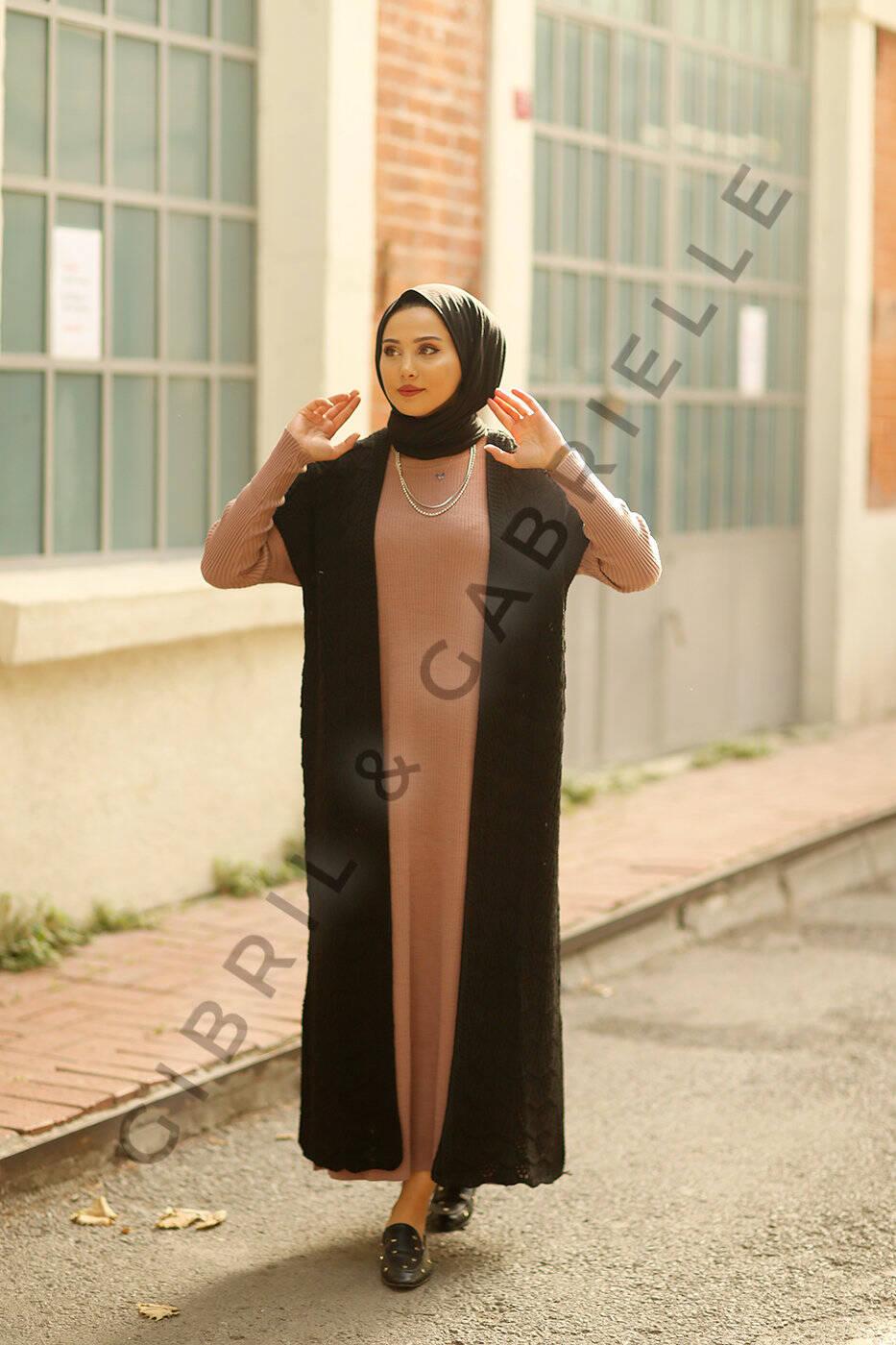 Nourhane Knit Cardigan - Black