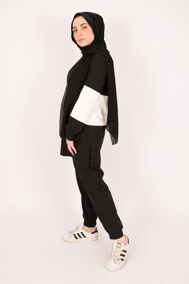 Black Soft Suit