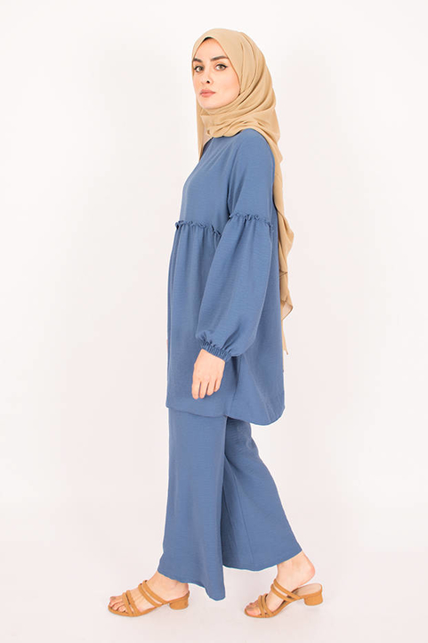 Blue Firdevs Suit