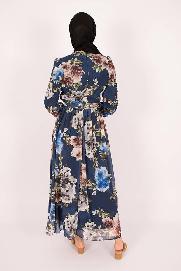 Blue Jasmin Dress