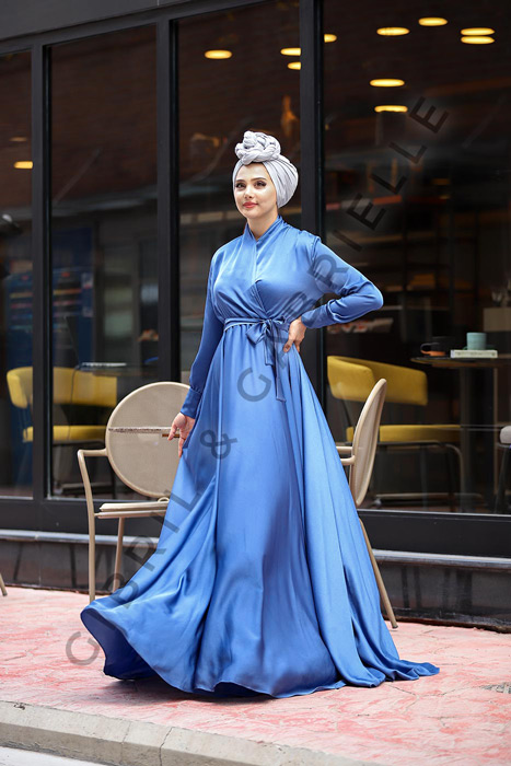 Blue Mennel Dress