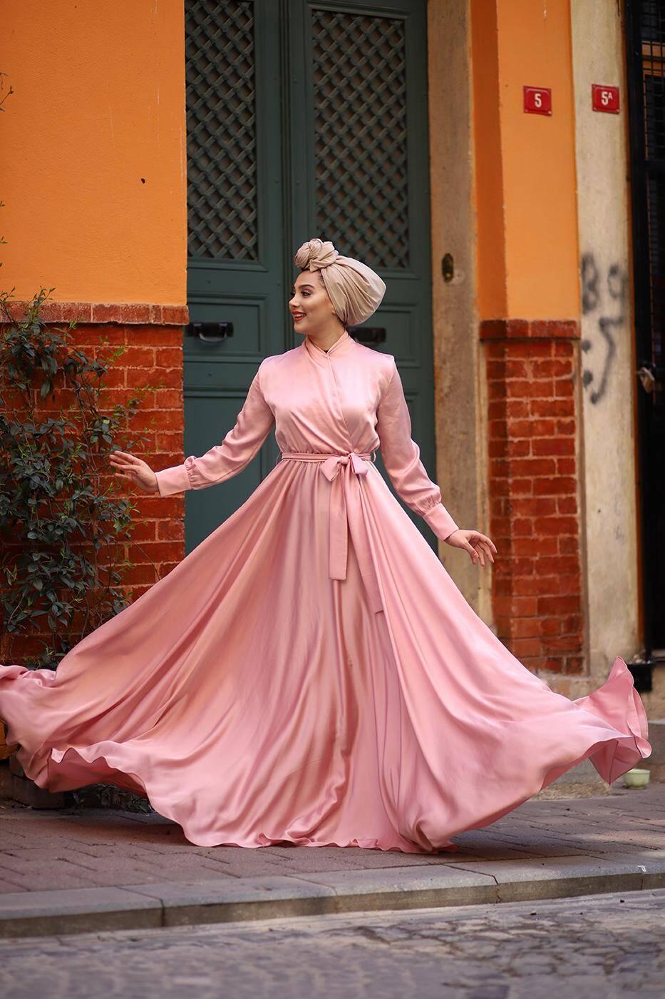 Gibril & Gabrielle - Blush Mennel Dress