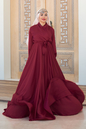 Gibril & Gabrielle - Burgundy Mennel Dress