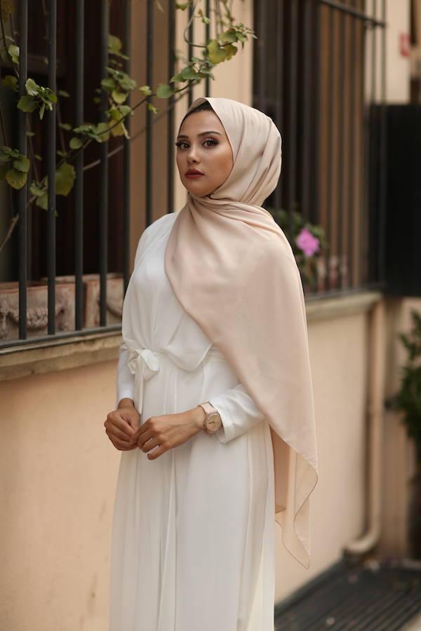 Gibril & Gabrielle - Chiffon Hijab - Sand