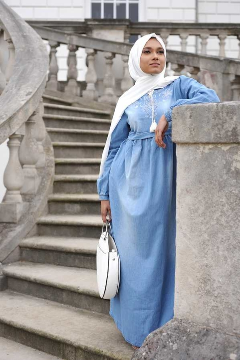 Gibril & Gabrielle - Denim Chic Dress
