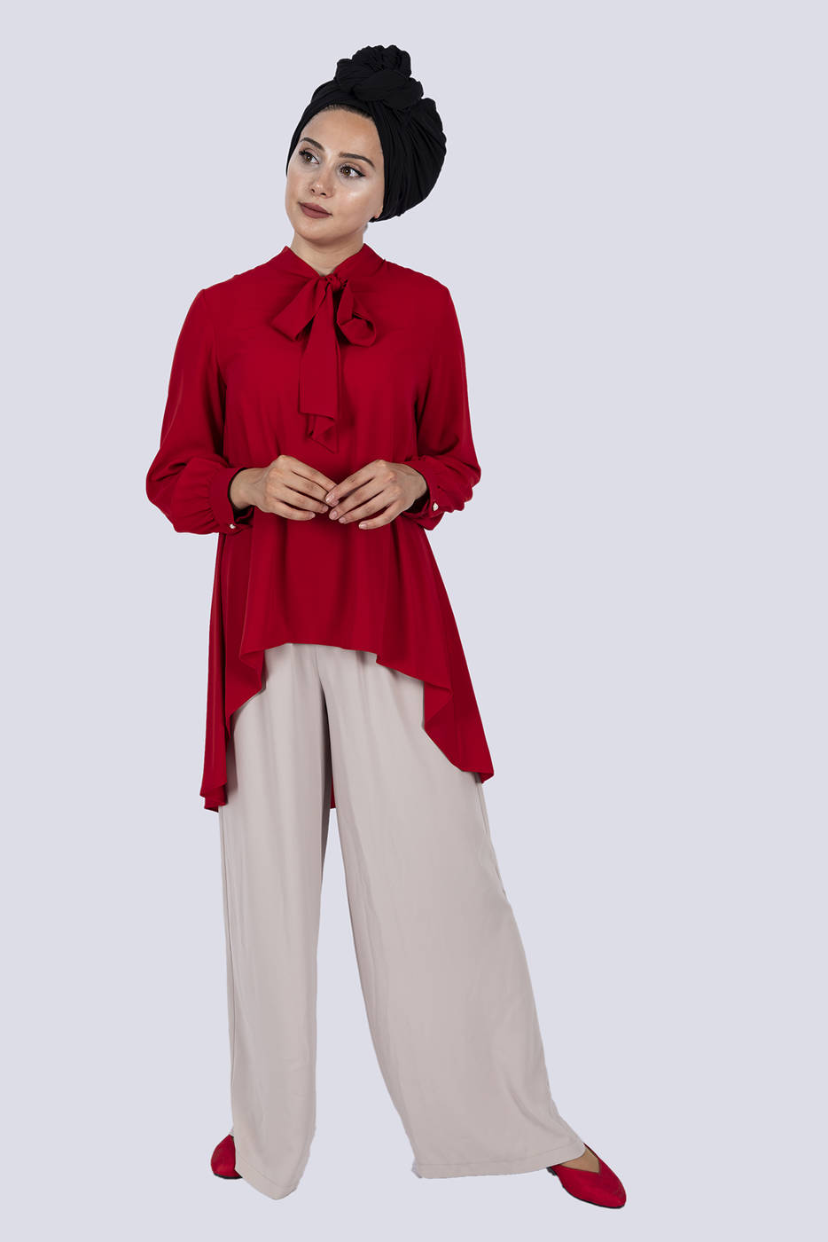 Gibril & Gabrielle - Diana Shirt Red