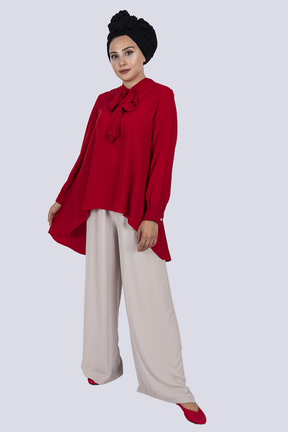 Diana Shirt Red