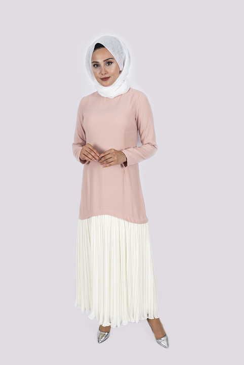 Elmira Dress Nude