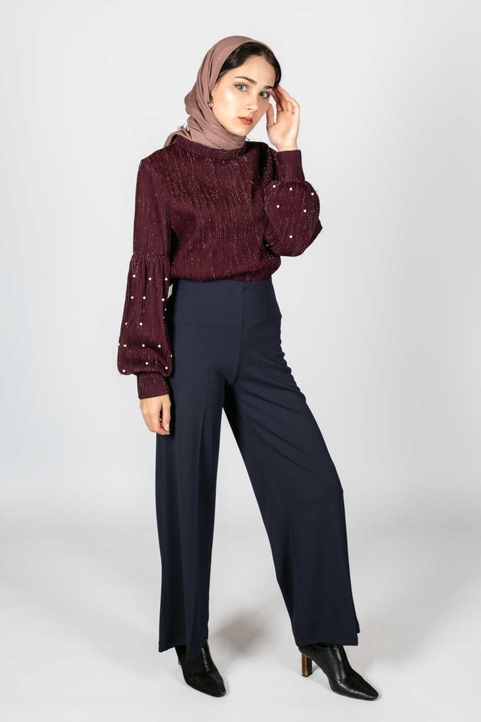 Feerique Top Burgundy
