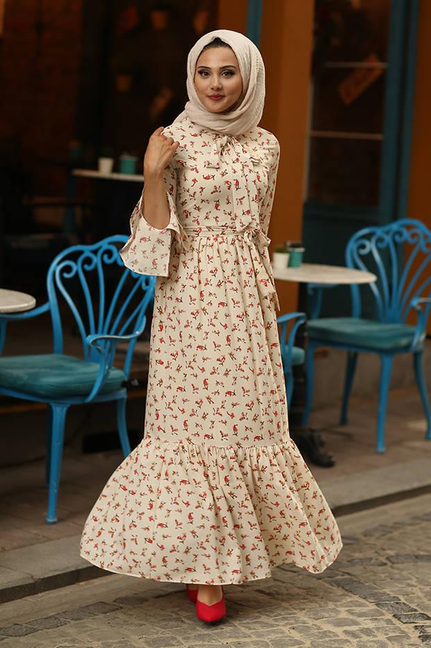 Flowers Ivory Dress