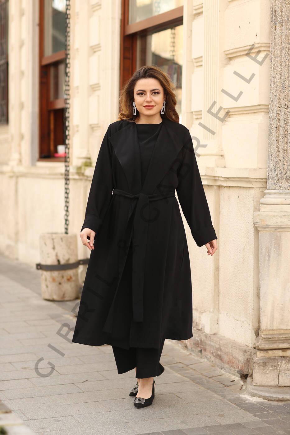 Gibril & Gabrielle - Gamze Suit - Black