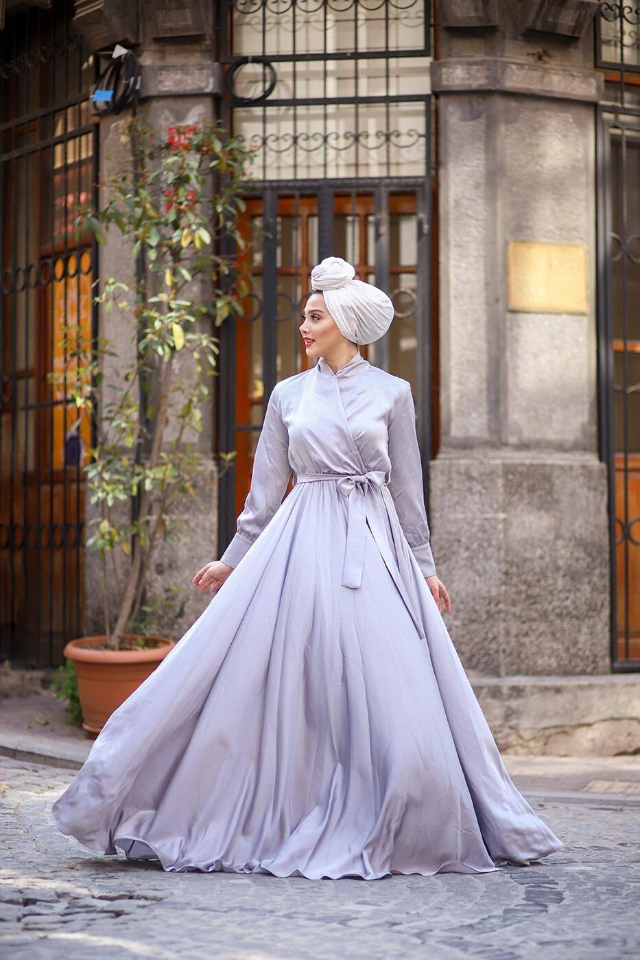 Gibril & Gabrielle - Gümüş Mennel Elbise
