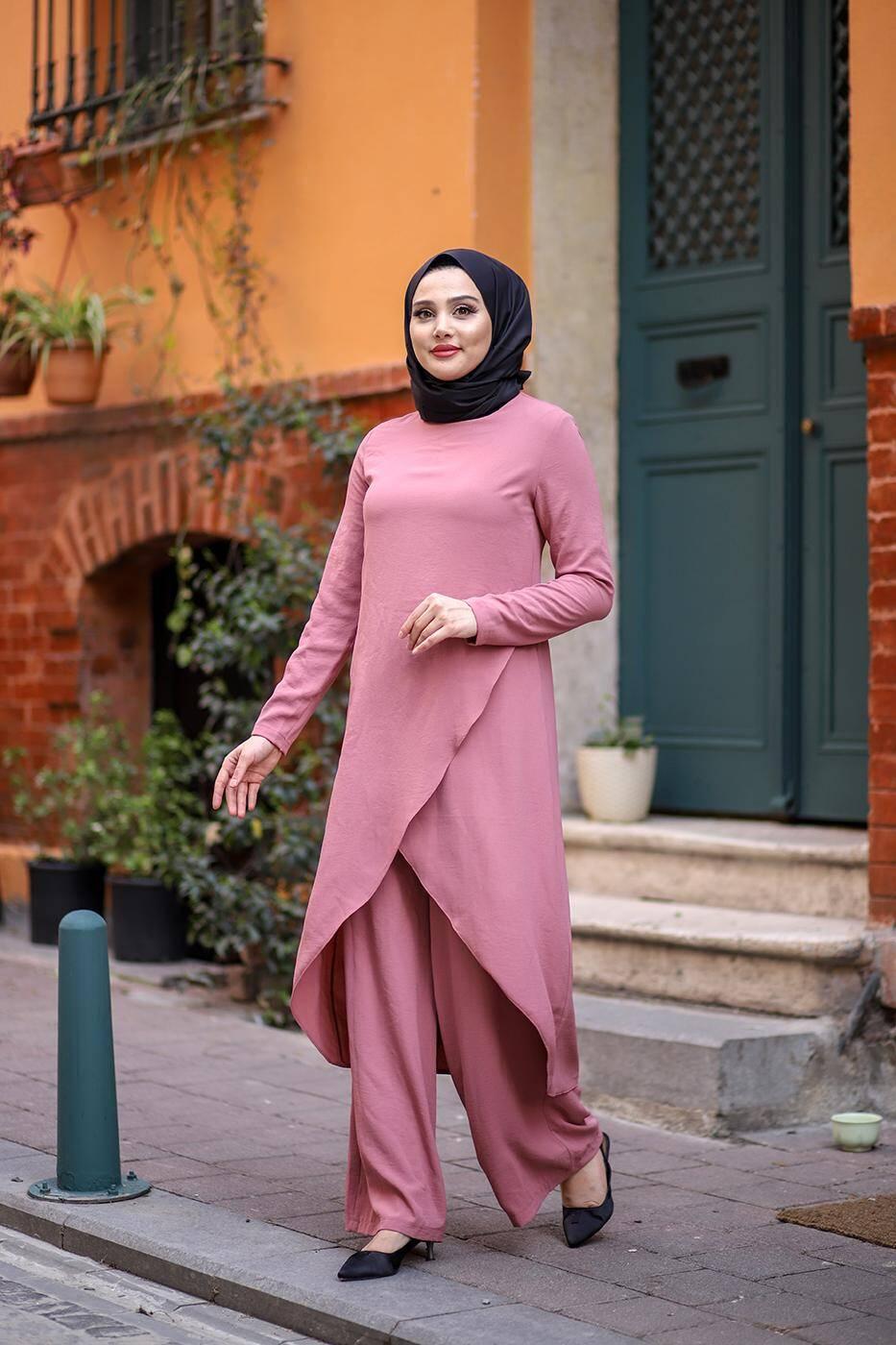 Hana Suit Old Pink