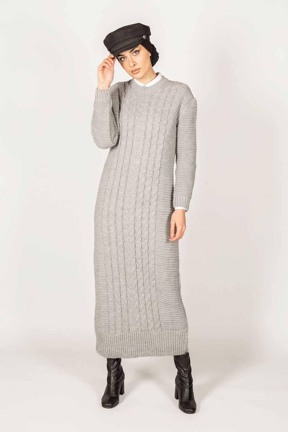 Gibril & Gabrielle - Inaya Dress Grey