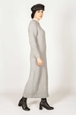 Inaya Dress Grey - Thumbnail