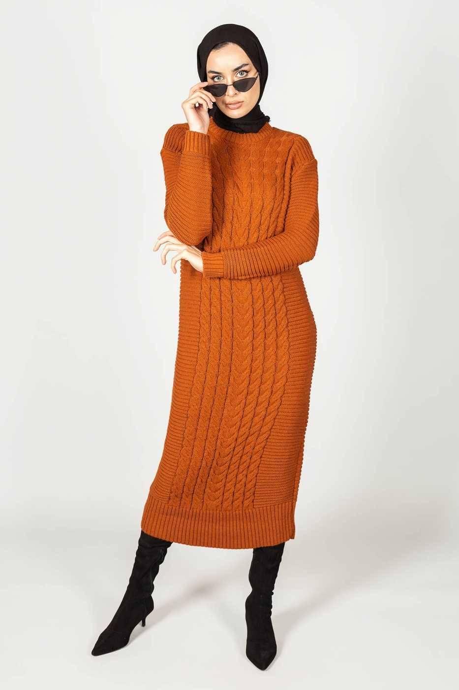 Gibril & Gabrielle - Inaya Dress Rust