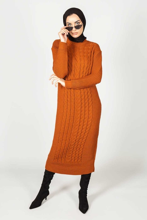 Gibril & Gabrielle - Inaya Dress Rust