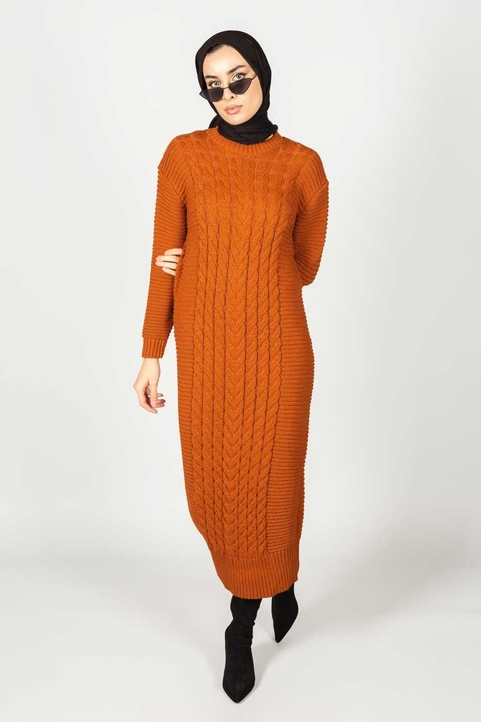 Inaya Dress Rust