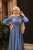 Indigo Yasemin Elbise - Thumbnail