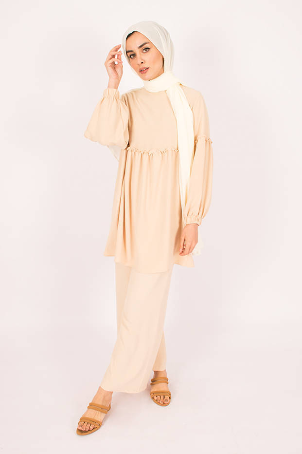 Gibril & Gabrielle - Ivory Firdevs Suit