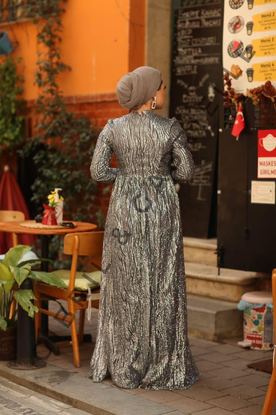 Jale Gri Elbise