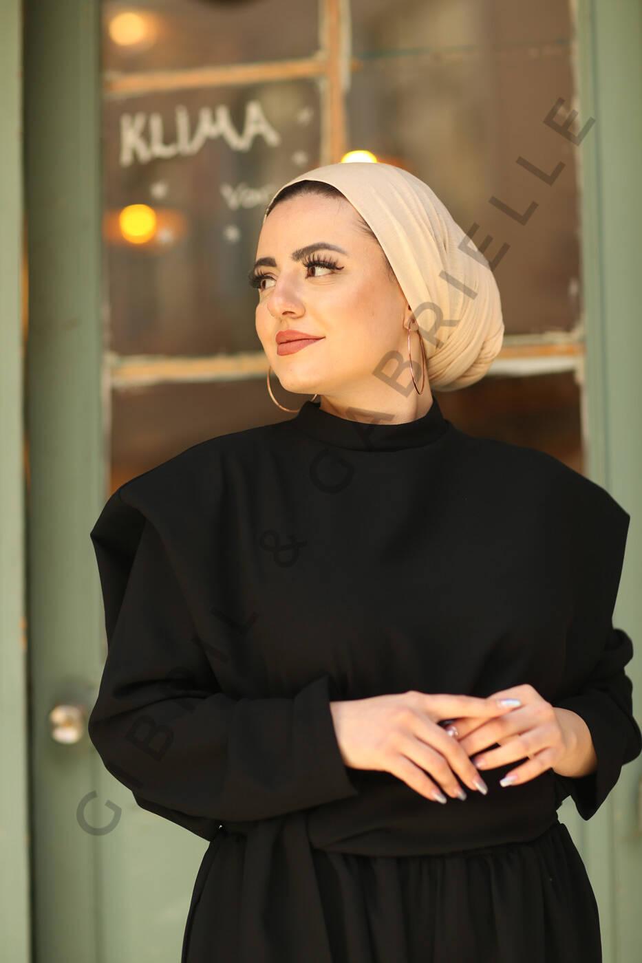 Gibril & Gabrielle - Jersey Hijab - Beige