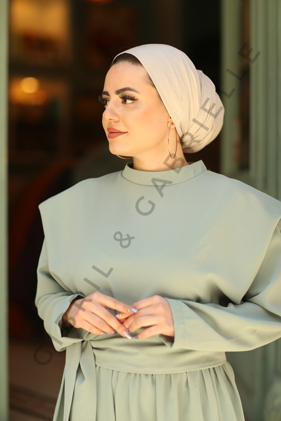 Gibril & Gabrielle - Jersey Hijab - Ivory