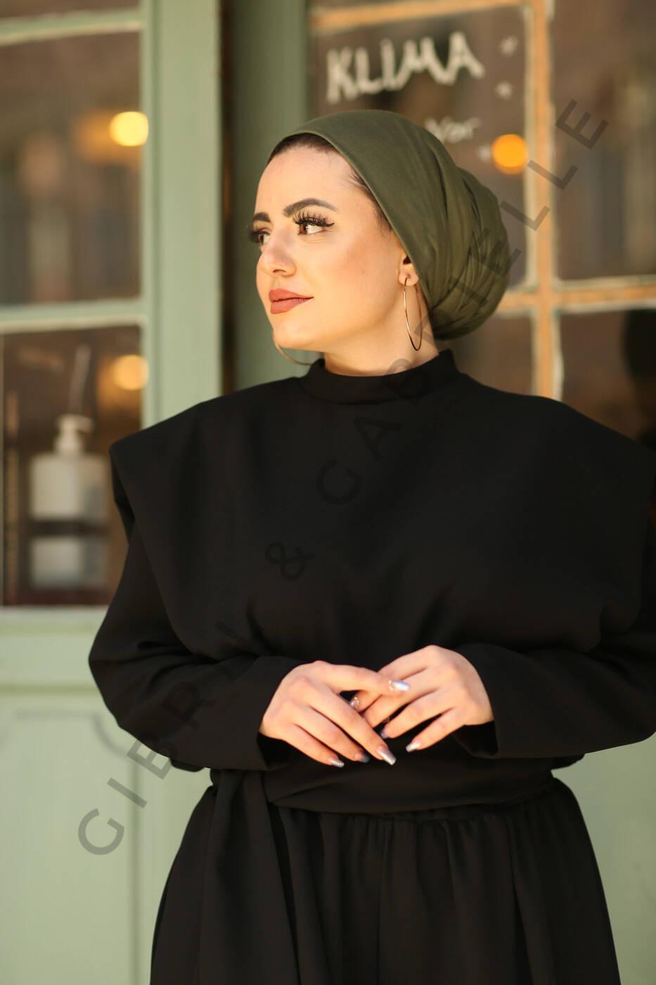Gibril & Gabrielle - Jersey Hijab - Khaki