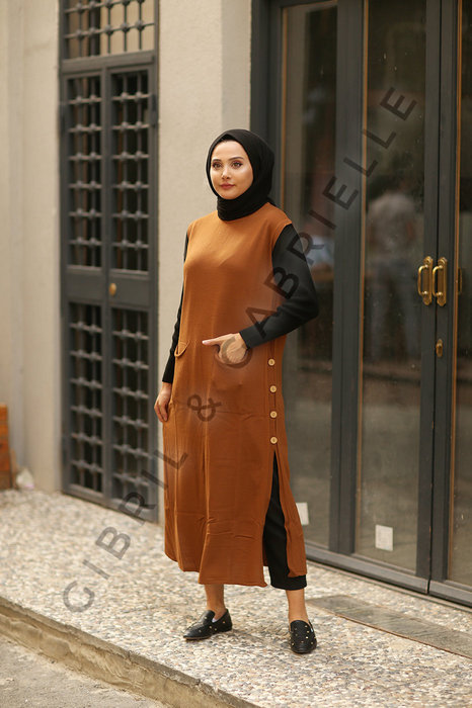 Kolsuz Kamel Arya Triko Tunik/Elbise
