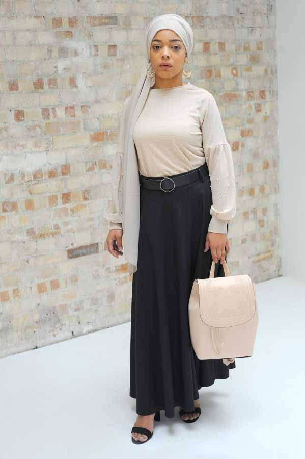 Gibril & Gabrielle - La Jupe Noir Skirt