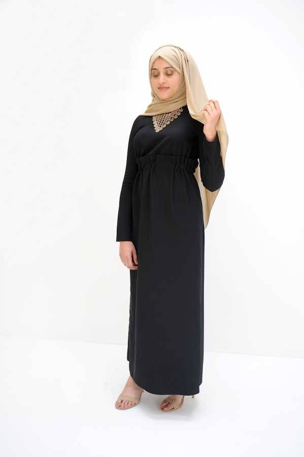 la robe noir dress dresses modest clothing islamic. Black Bedroom Furniture Sets. Home Design Ideas