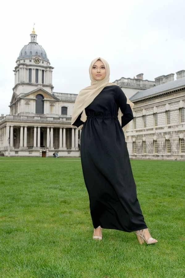 Gibril & Gabrielle - La Robe Noir Dress