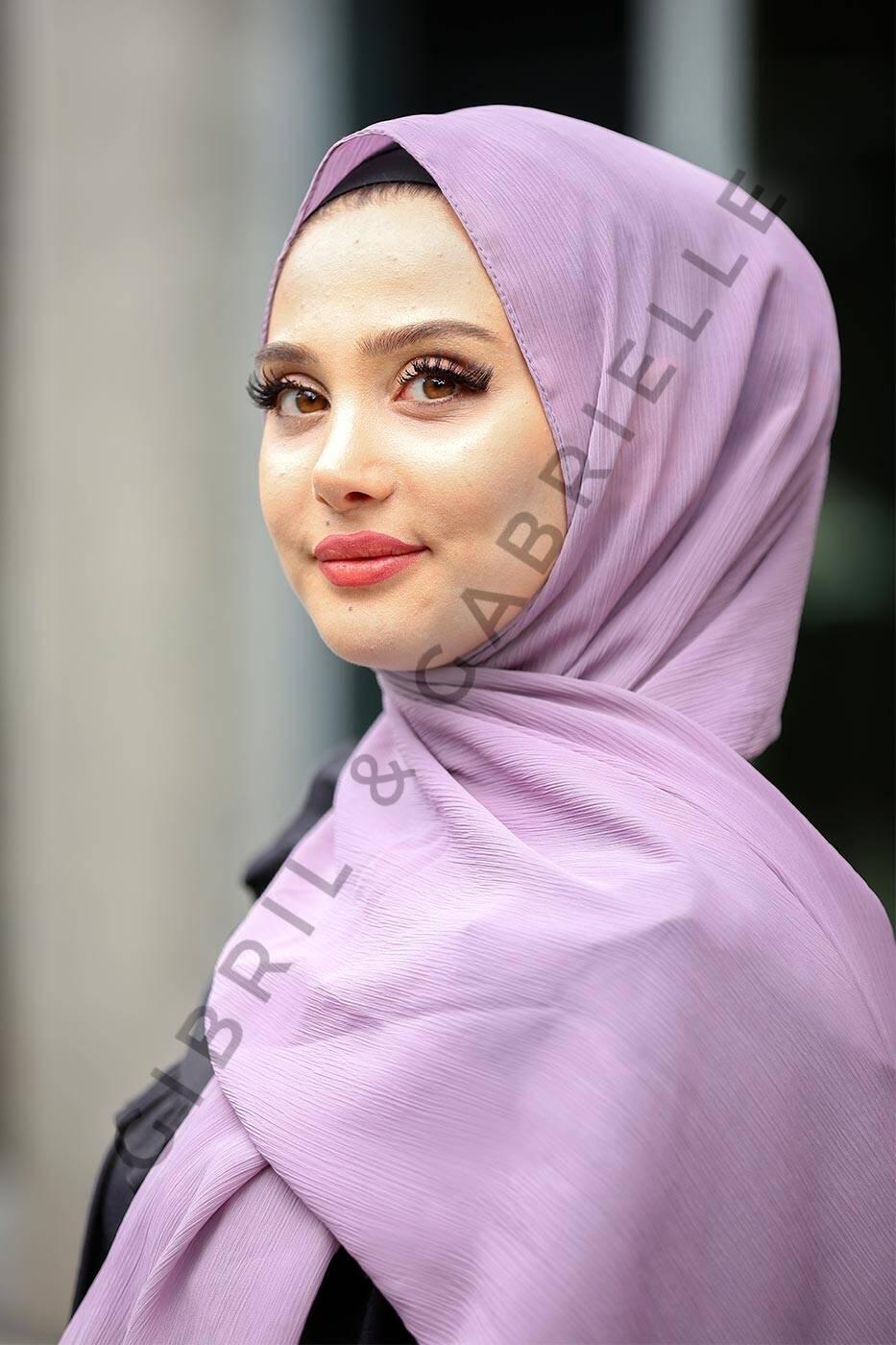 Krinkil Hijab - Lavender