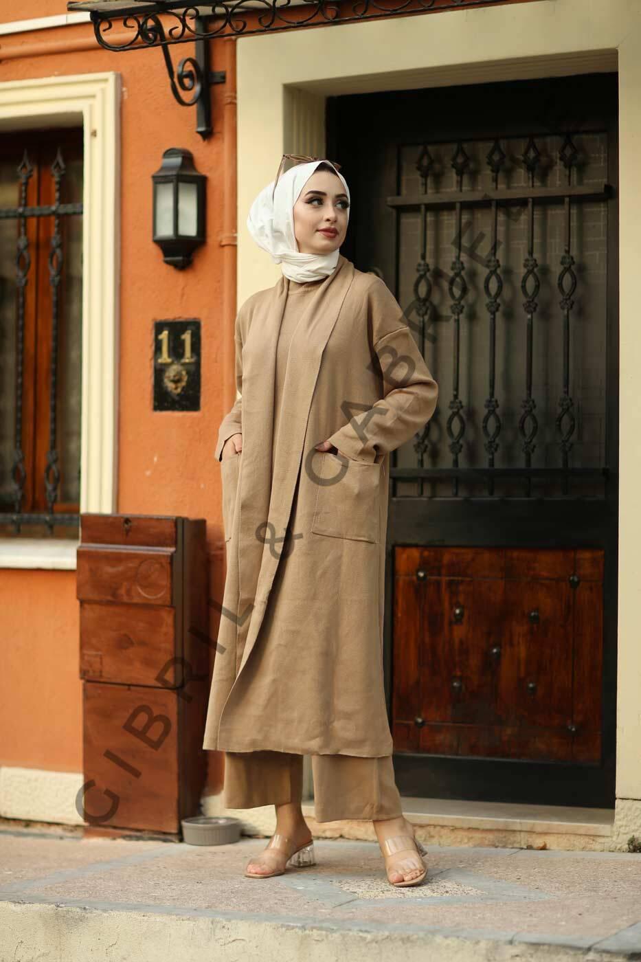 Gibril & Gabrielle - Leman Suit - Moka
