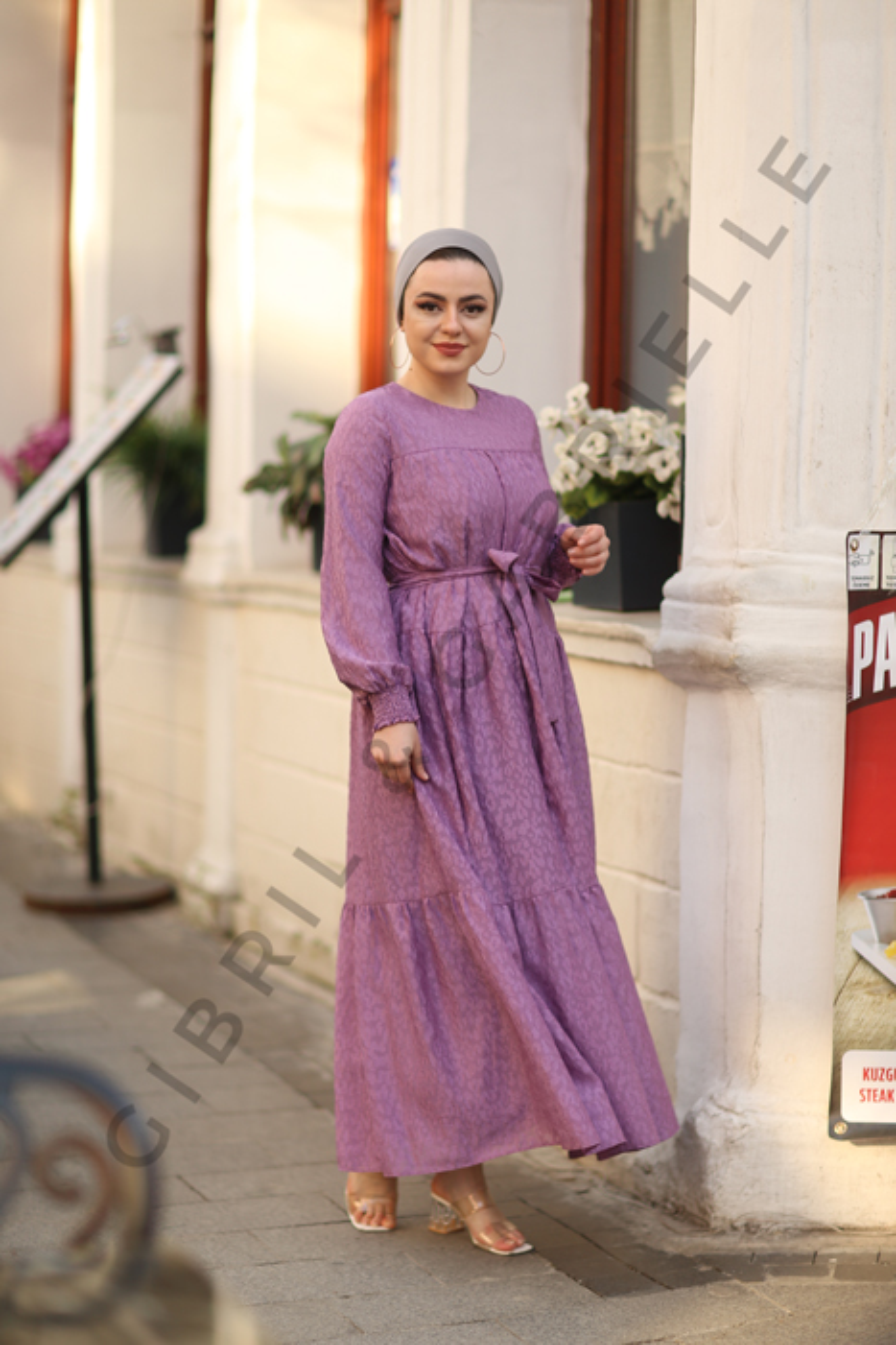 Gibril & Gabrielle - Leyla Dress - Lilac
