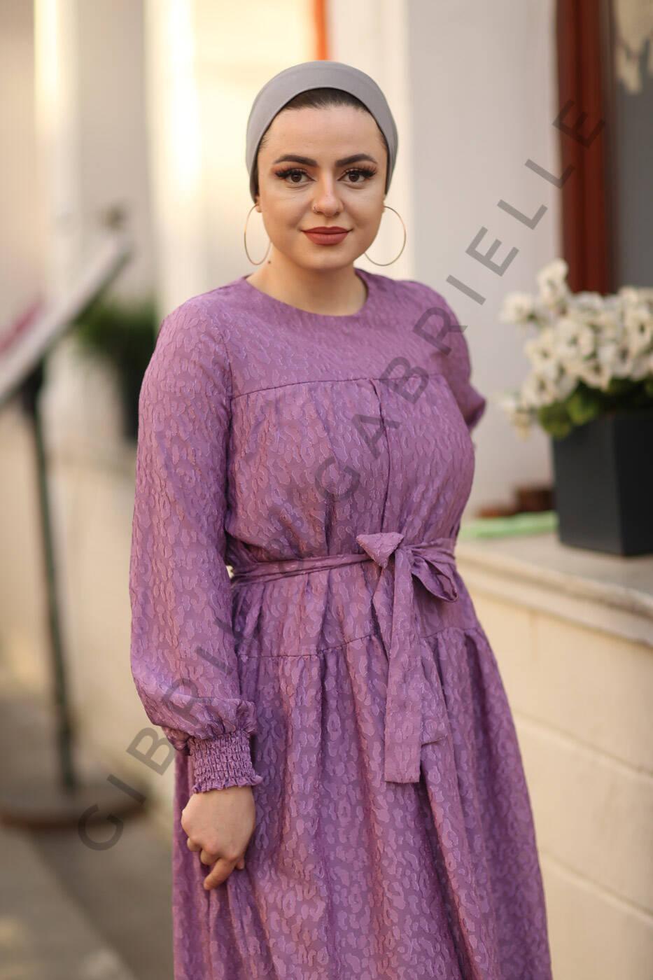 Leyla Lila Elbise