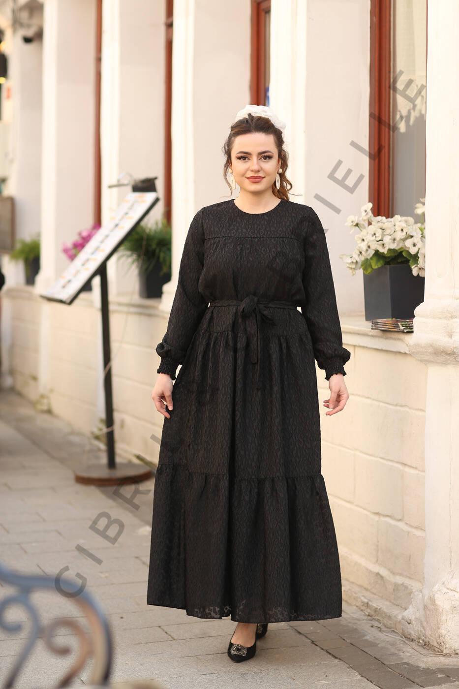 Gibril & Gabrielle - Leyla Siyah Elbise